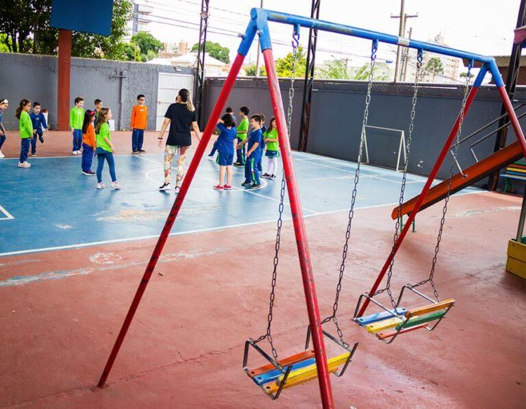 quadra recreação escola cristã